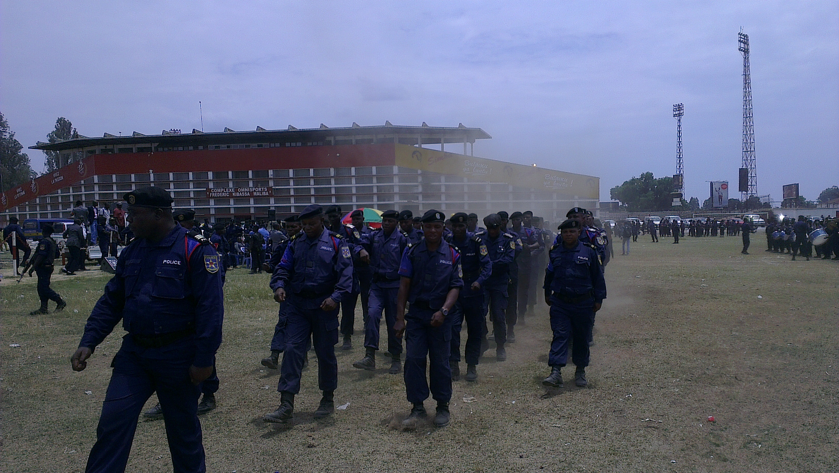 Police, Kolwezi, Lubumbashi