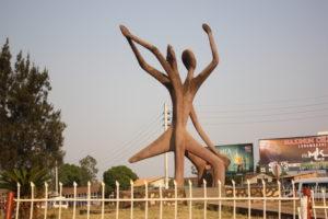 Monument de la paix, Lubumbashi