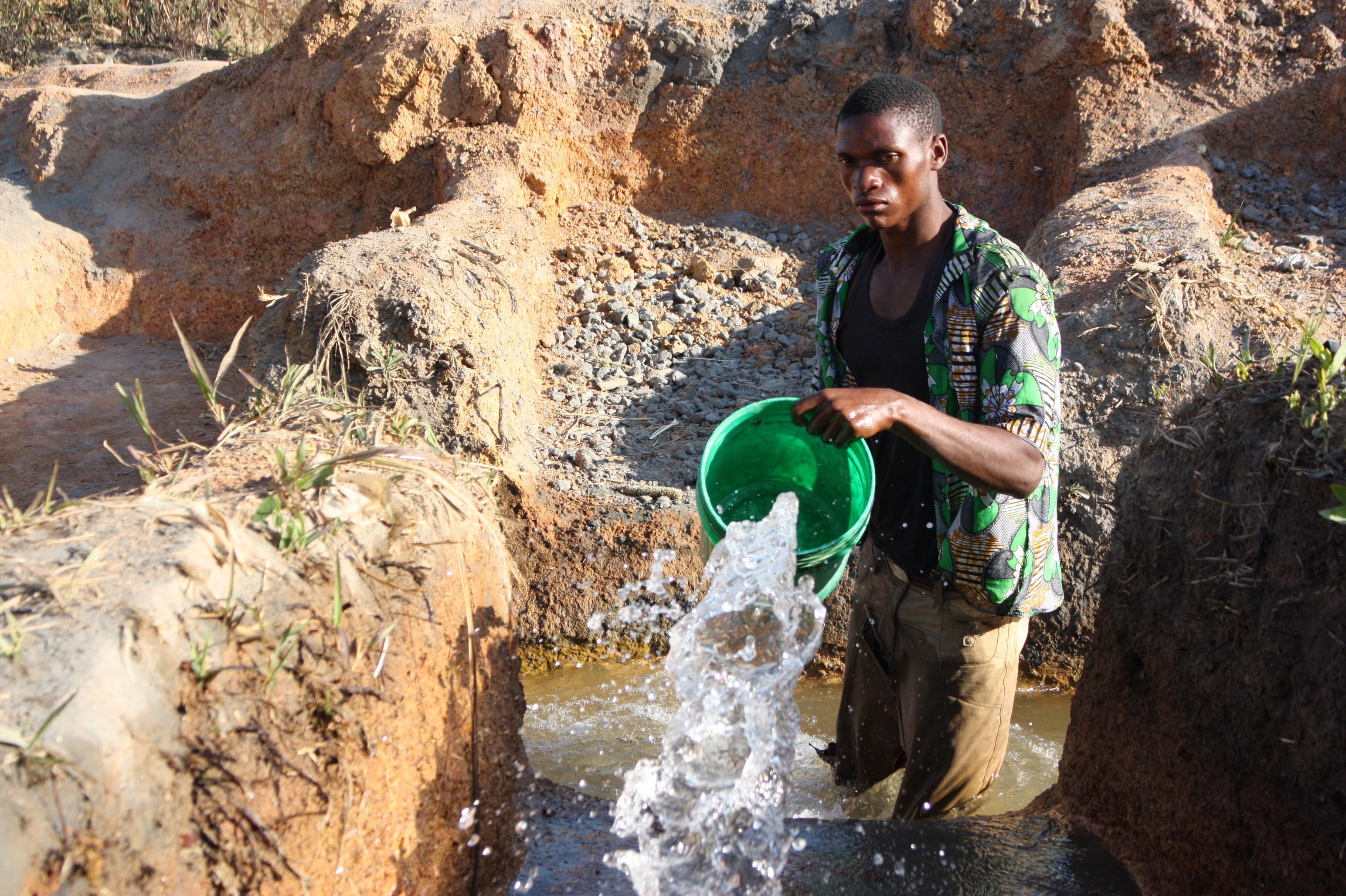 Lubumbashi, eau