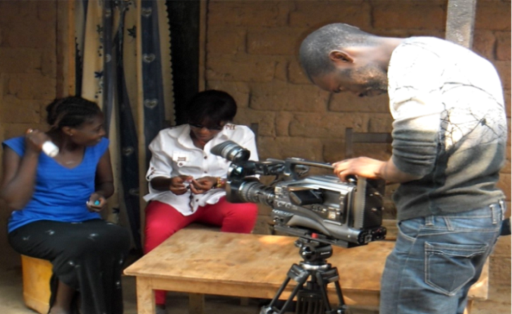 Cinéma, Lualaba, Journaliste arrêté