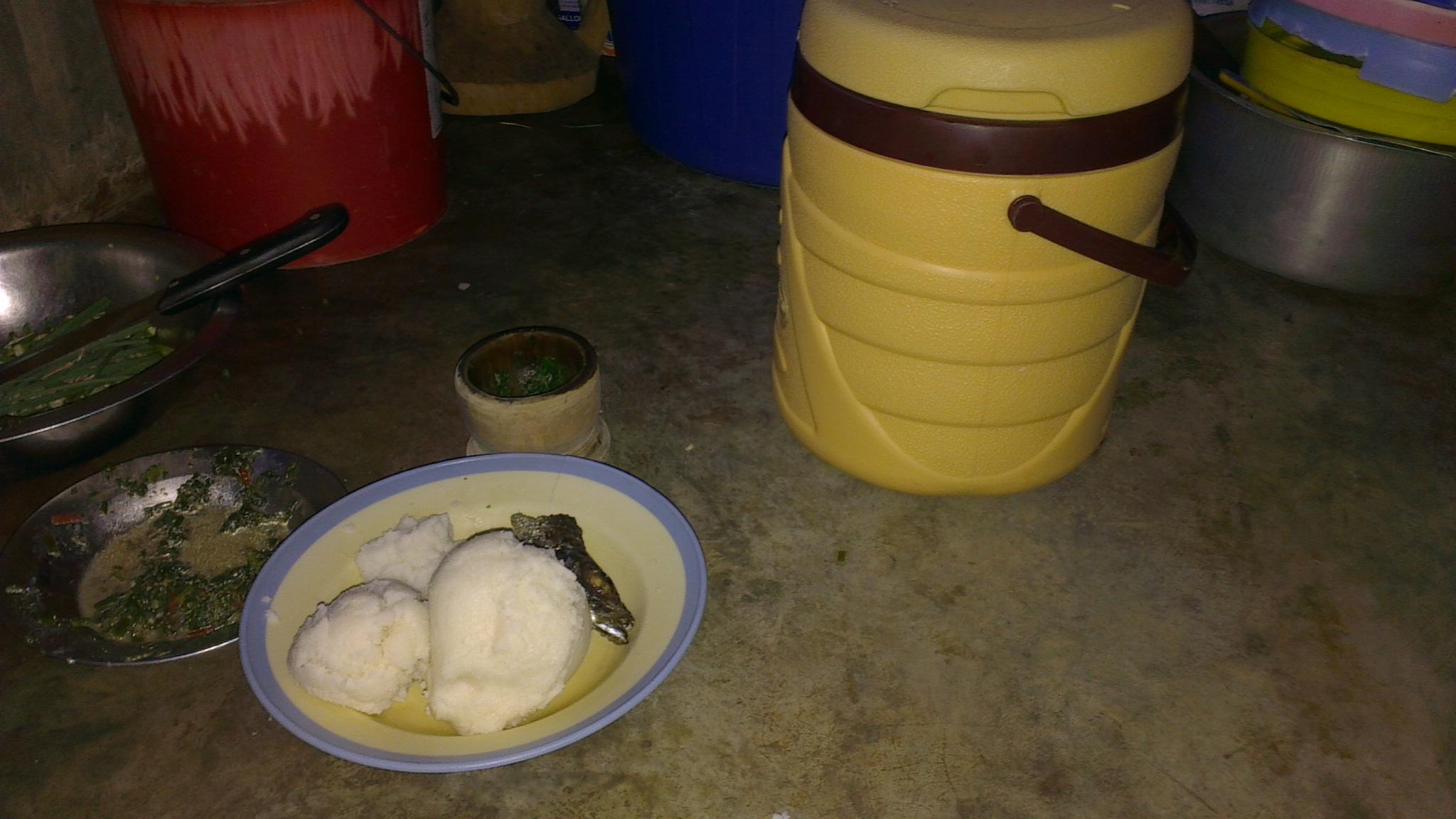 Du Bukari, principal aliment à Lubumbashi