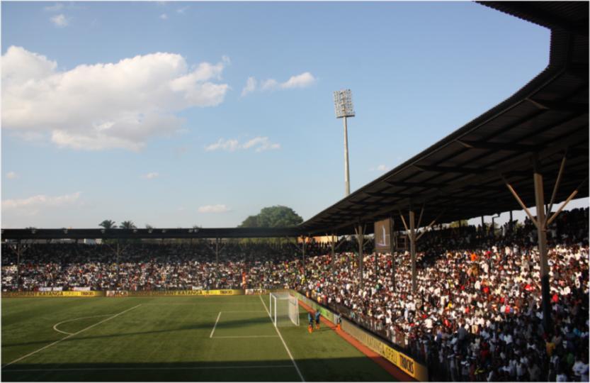 Ecofoot Katumbi, stade TP Mazembe