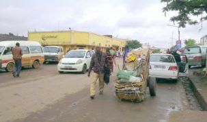 Lubumbashi, déchets