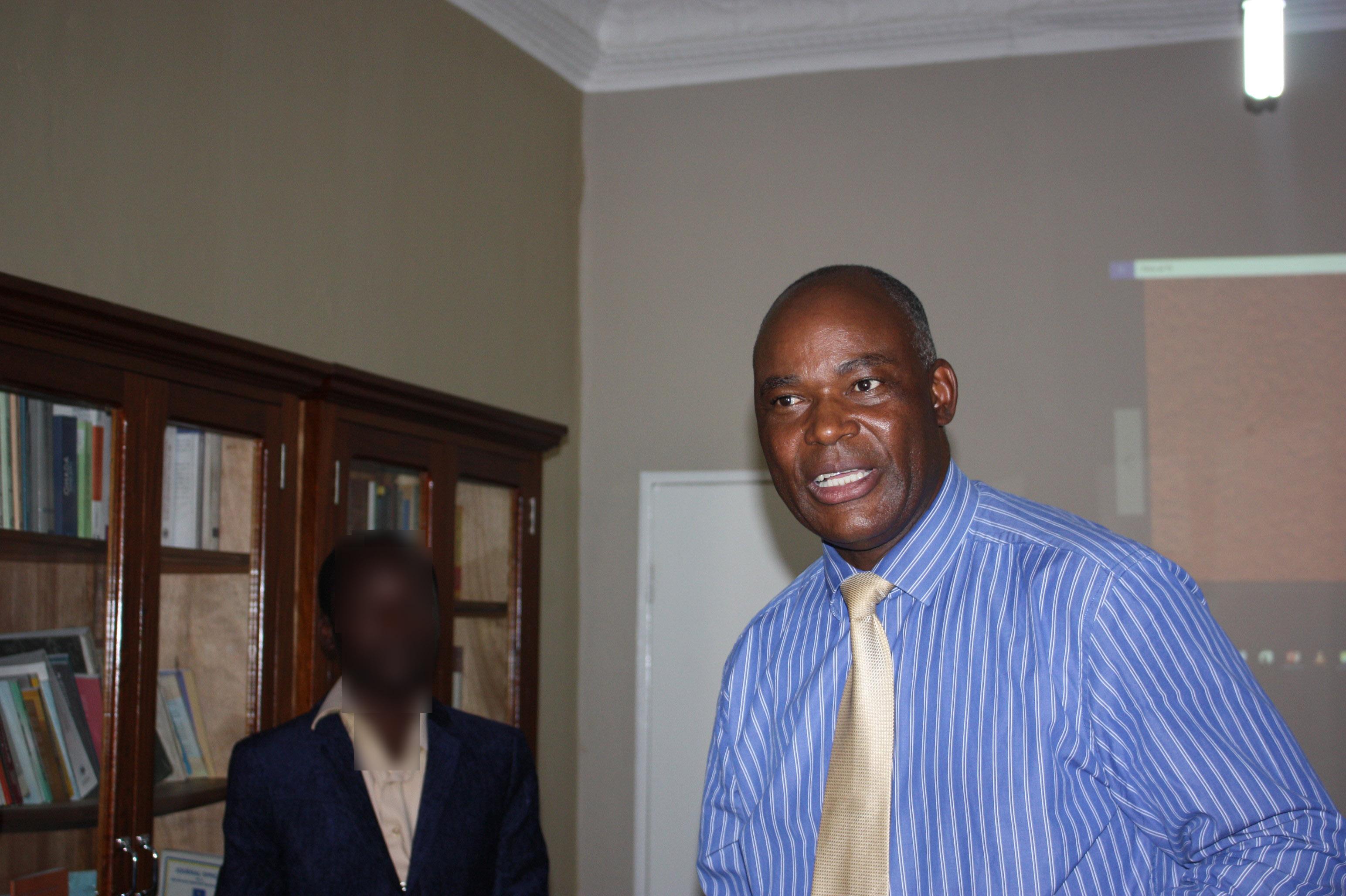 Hubert Tshiswaka