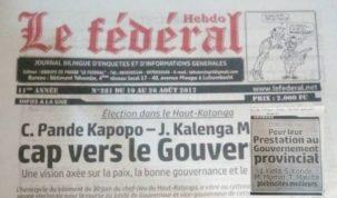 Le Fédéral, Lubumbashi