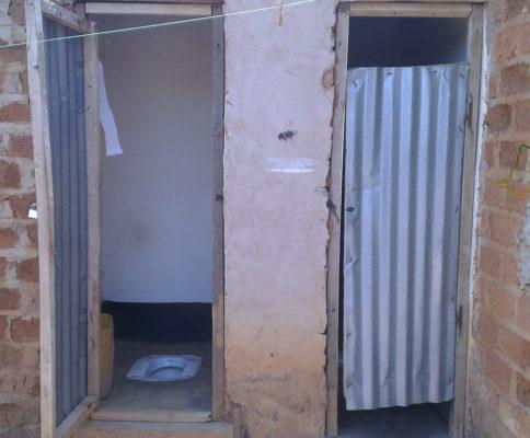 Lubumbashi, toilettes