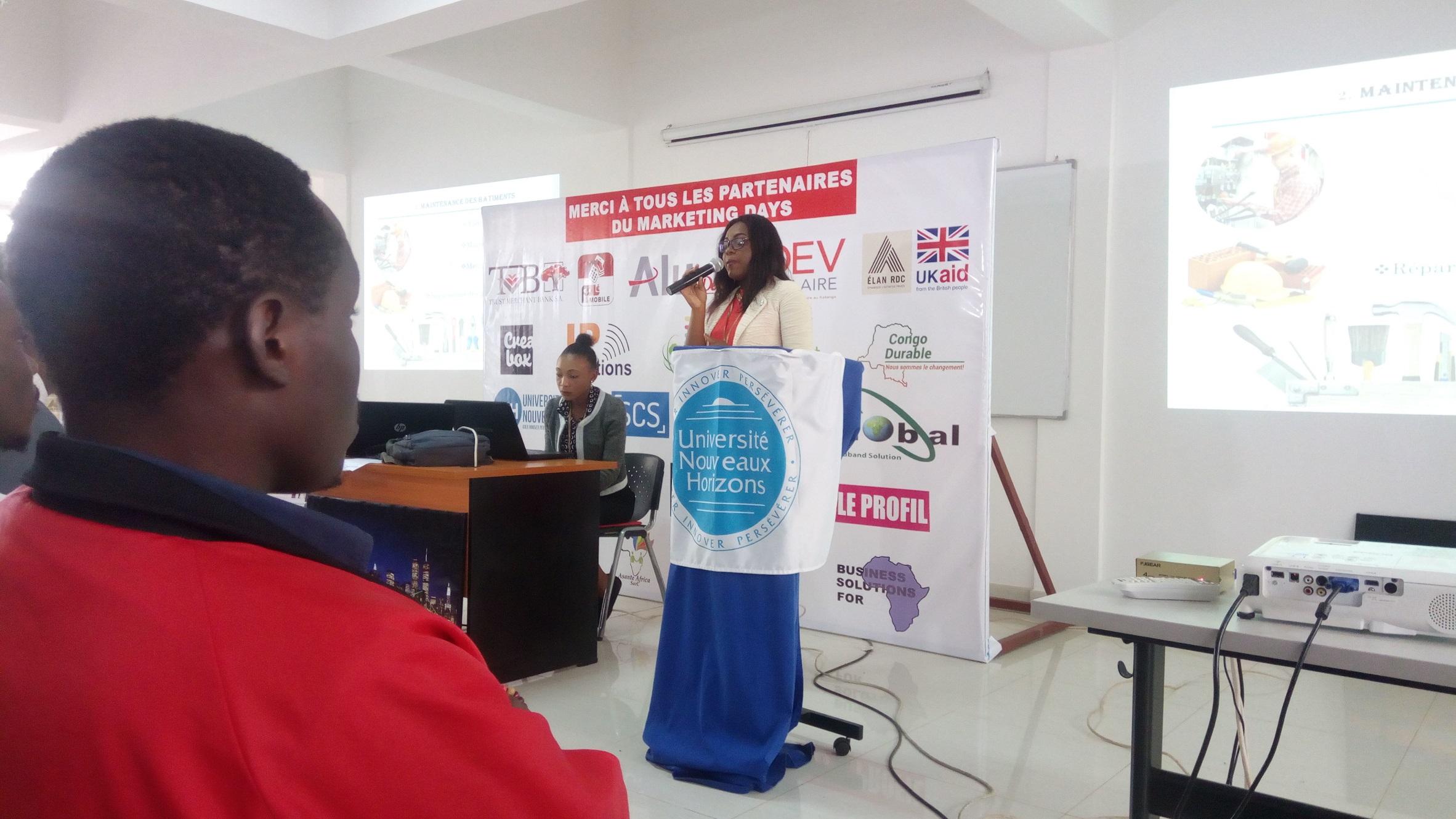 Marketing Days, Lubumbashi, Jeunes entrepreneurs
