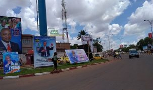 RDC, Campagne électorale rdc, Machine à voter, Lubumbashi