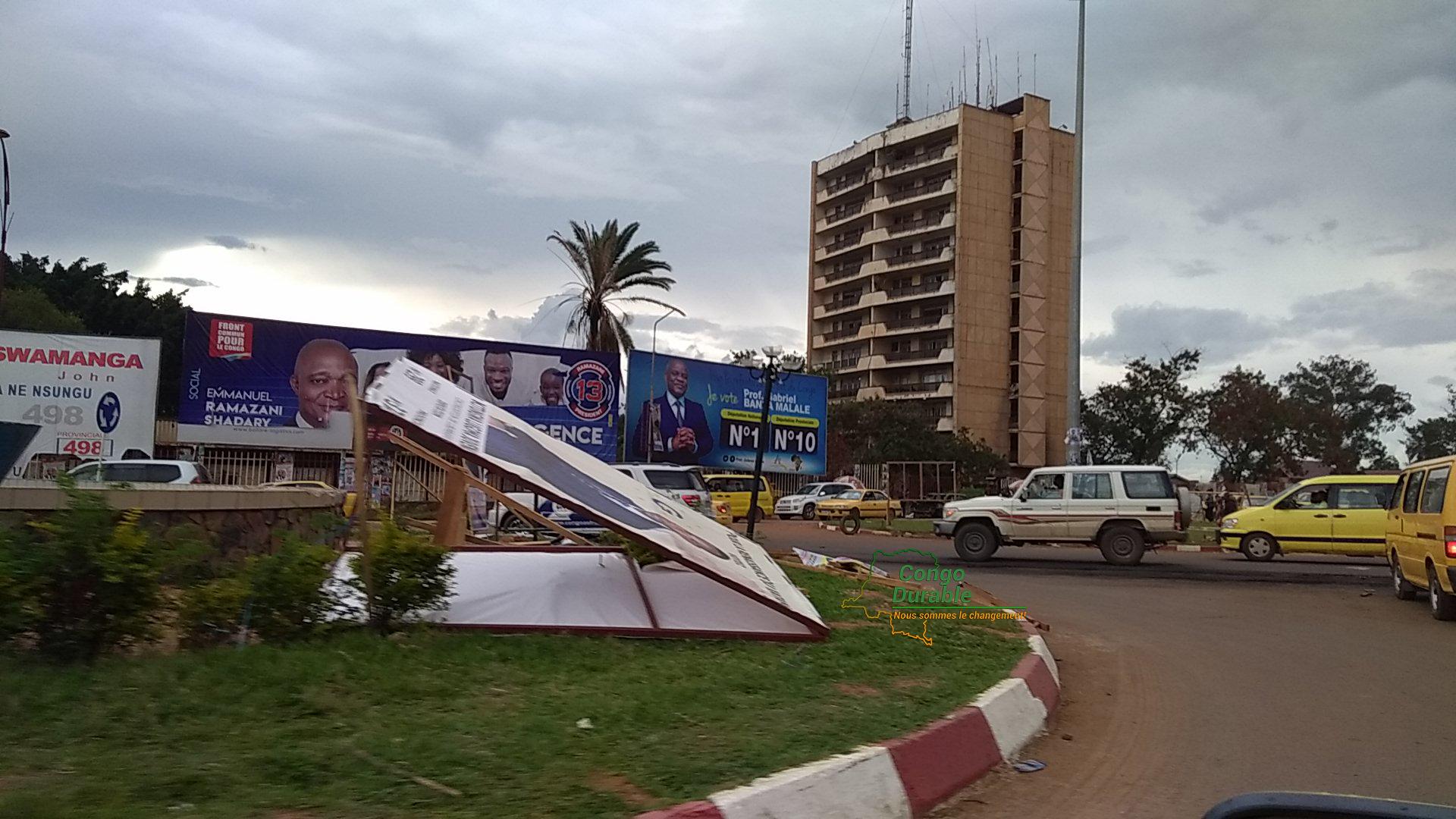 Lubumbashi, Campagne électorale, Fayulu