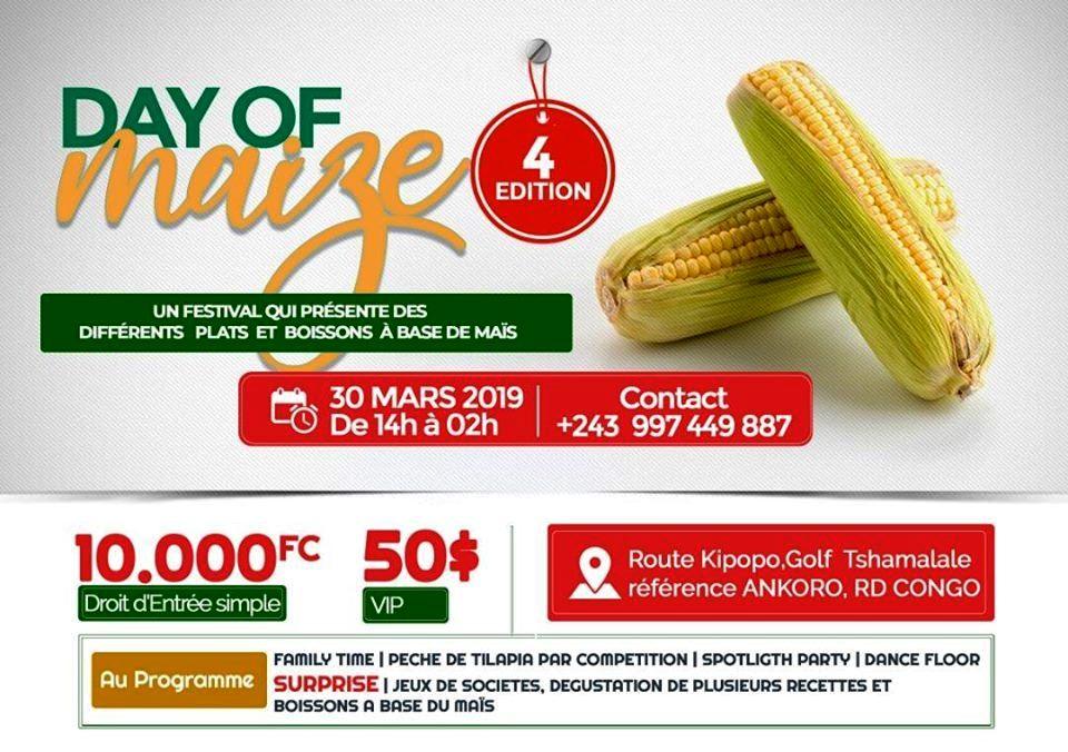 Maïs, Lubumbashi, Day of Maize