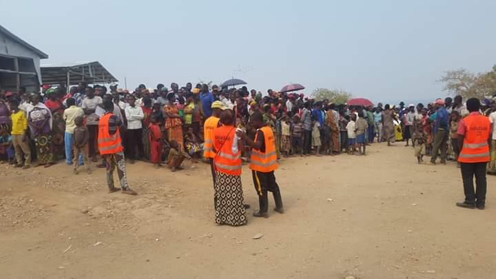 Choléra à Lusenda