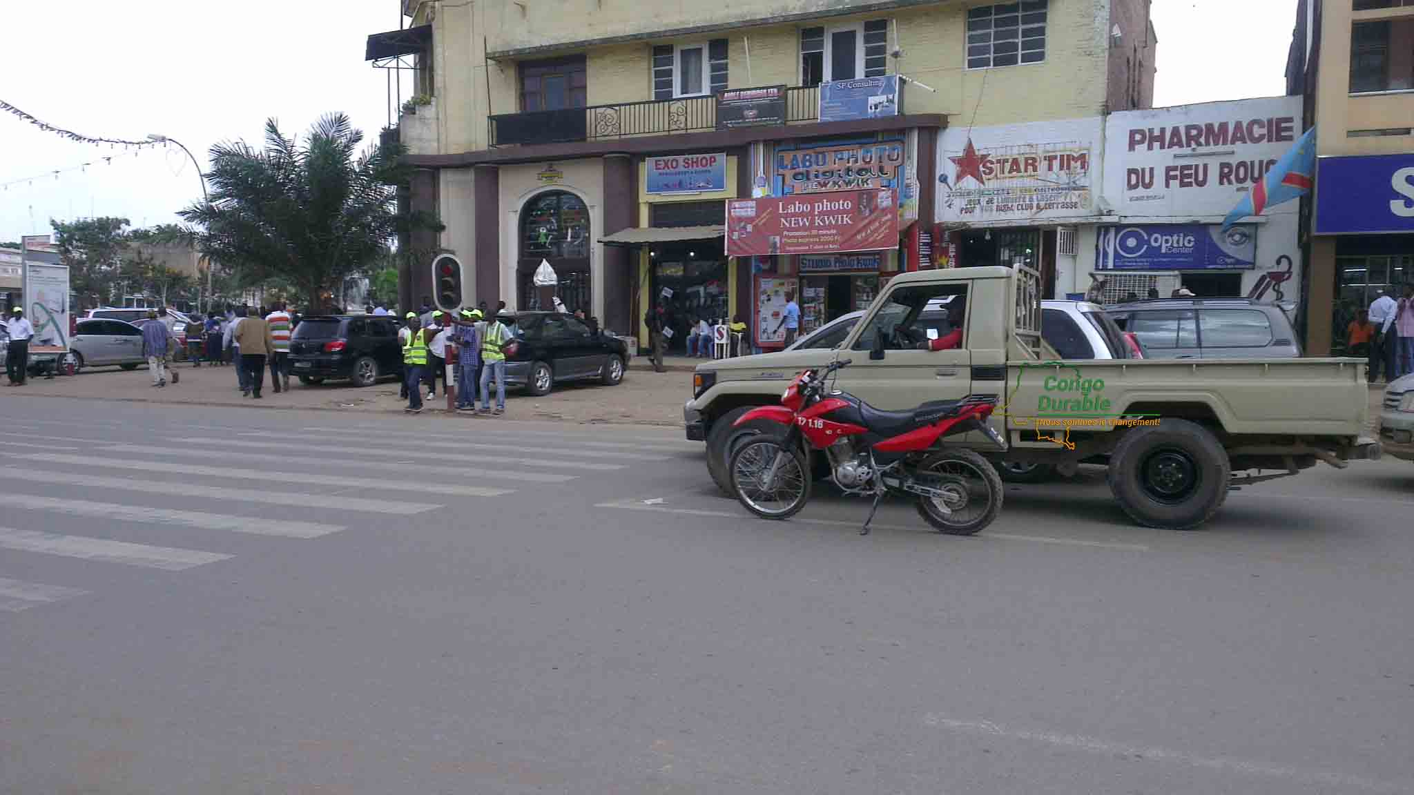 Taxis-motos, Lubumbashi