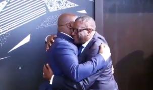 Denis Mukwege et Félix Tshisekedi