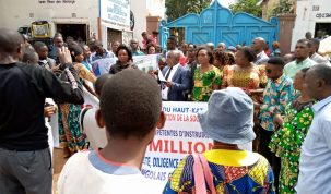 Mairie de Lubumbashi, société civile