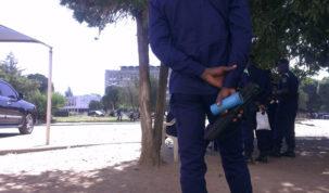 Police RDC, Lubumbashi