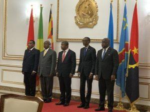 président Félix Tshisekedi, Kagame, Museveni