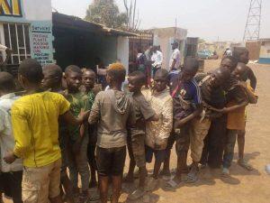 Enfants de rue Lubumbashi