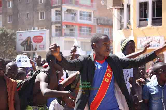 RDC, Manifestation, Cohésion nationale
